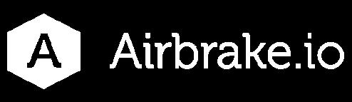 Airbrake.io logo - white